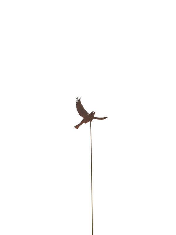 Small Sparrow One Stake Garden Art