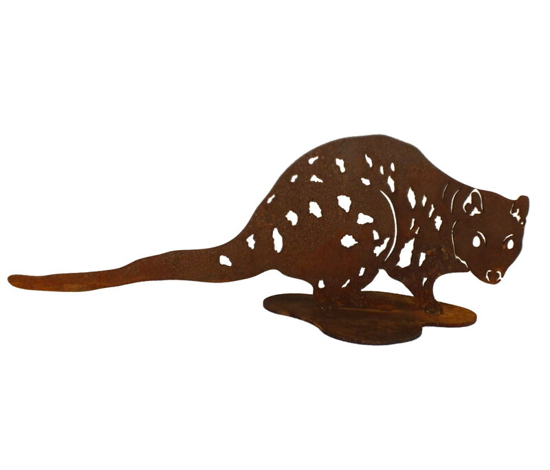 Spotted Quoll Stand Large Garden Art