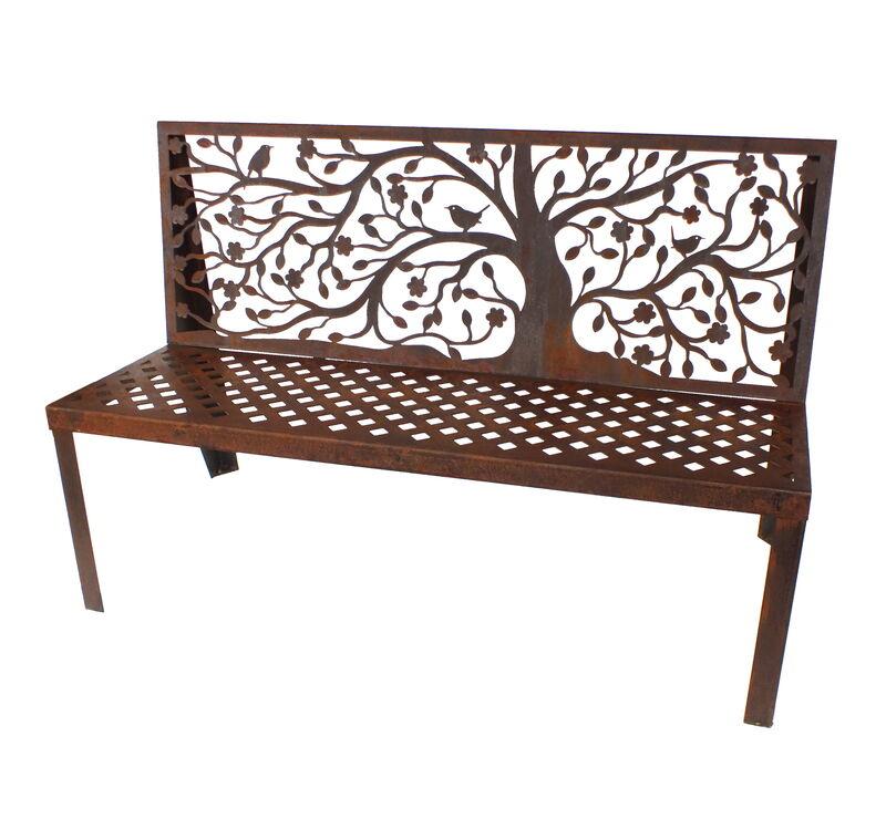 Spring Tree Bench Seat Garden Art