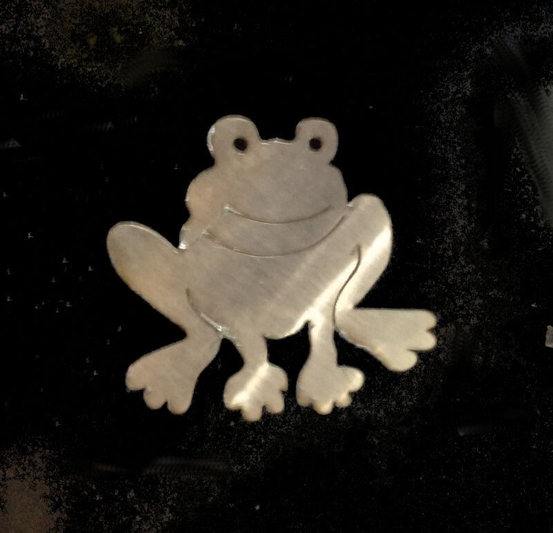 Stainless Steel Frog Magnet