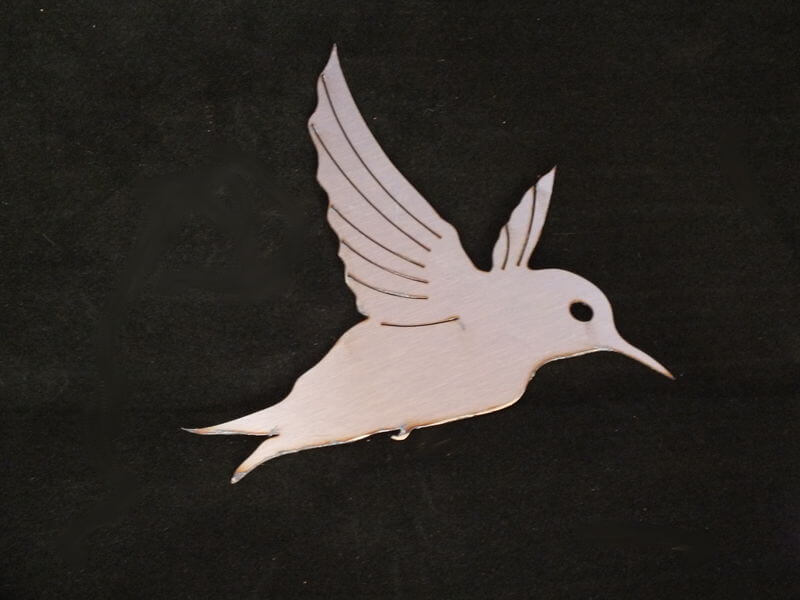 Stainless Steel Honeybird Magnet Garden Art