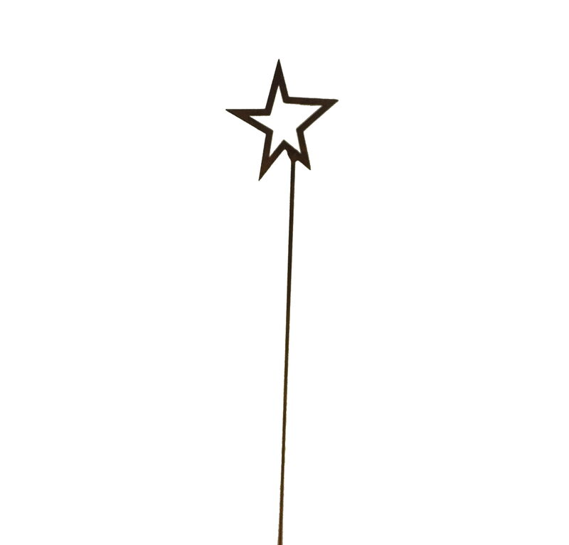 Star Stake Garden Art