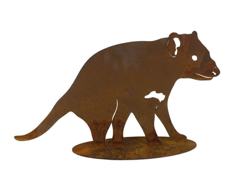 Tasmanian Devil Stand Medium Garden Art