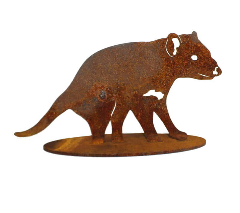 Tasmanian Devil Stand Small Garden Art