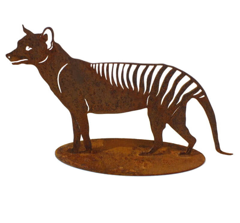 Tasmanian Tiger Stand Medium Garden Art