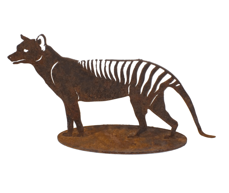 Tasmanian Tiger Stand Small Garden Art