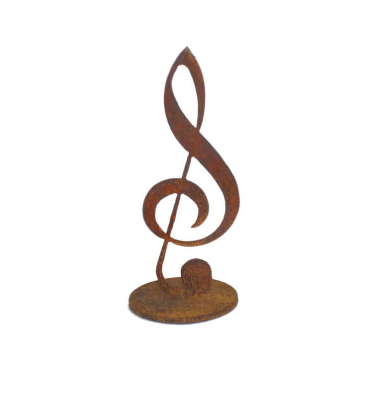 Treble Clef  music note Stand