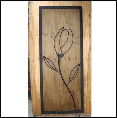 Security Screen Door by Overwrought - Tulip Door
