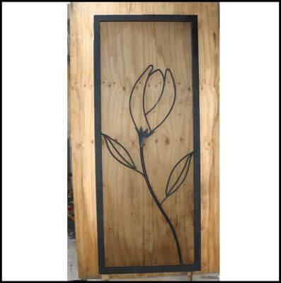 Security Screen Door by Overwrought - Tulip Door