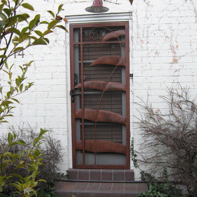 Security Screen Door by Overwrought - Walker Door