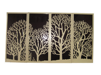 Winter Tree Doors