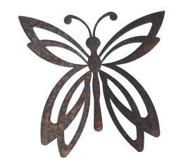 Medium Butterfly Magnet Two Garden Art