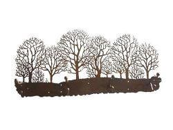 Winter Trees Coat Rack