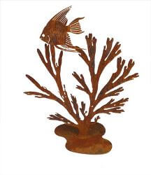 Angel Fish in Kelp Garden Art