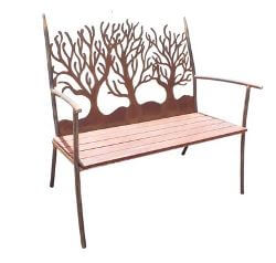 3 Trees Outdoor Garden Bench Seat