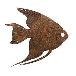 Angel Fish Garden Art