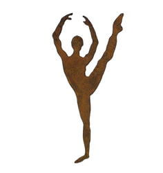 Ballet Dancer 3 Magnet Garden Art