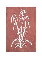 Bamboo Garden Wall Art Panel Four