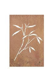 Bamboo Garden Wall Art Panel Three