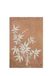 Bamboo Garden Wall Art Panel Two