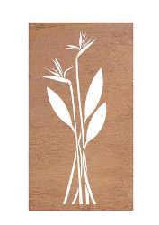 Bird of Paradise Garden Wall Art Panel