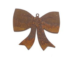 Bow Hanging Ornament Garden Art
