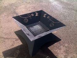 Butterfly Fire Pit