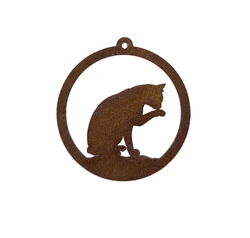 Cat Hanging Ornament Garden Art