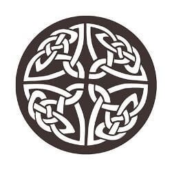 Celtic Knot Metal Garden Wall Art