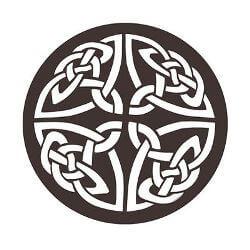 Celtic Knot Metal Garden Wall Art