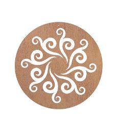 Celtic Circle 1 Metal Garden Wall Art