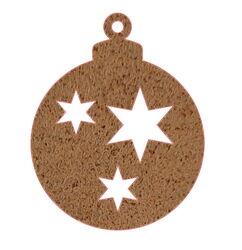 Christmas Bauble Decoration Small Stars  Garden Art