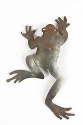 Climbing Frog Magnet Garden Art