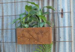 Corten Vertical Garden Planter 2