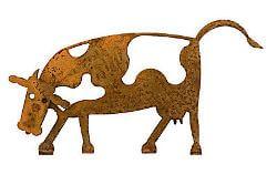 Cow Two Magnet Garden Art