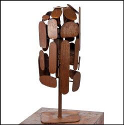 Cubist Tree Sculpture