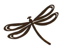 Dragonfly Magnet 4 Garden Art