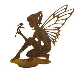 Fairy with Flower Garden Art