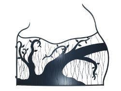 Fallen Tree Gate