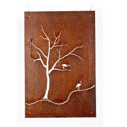 Herons Garden Wall Art Panel