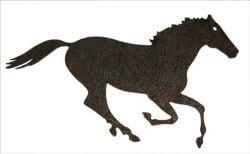 Horse  Magnet Garden Art