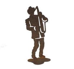 Jazz Saxophone Player Medium Stand
