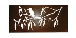 Kookaburra On Gum Branch Box Wall Art