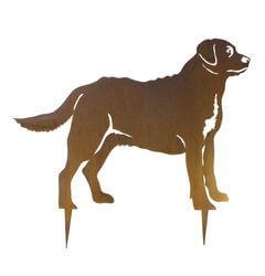 Labrador Dog Stake Garden Art
