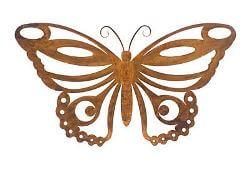 Butterfly Metal Garden Art  No 2 Wall Art