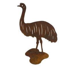 Large Emu Stand Garden Art