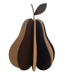 Extra Large Pear Sculpture