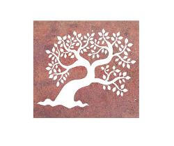 Leaf Tree Metal Garden Wall Art