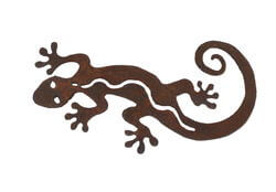Little Gecko Magnet Garden Art