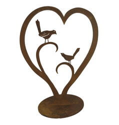 Love Birds Stand Garden Art